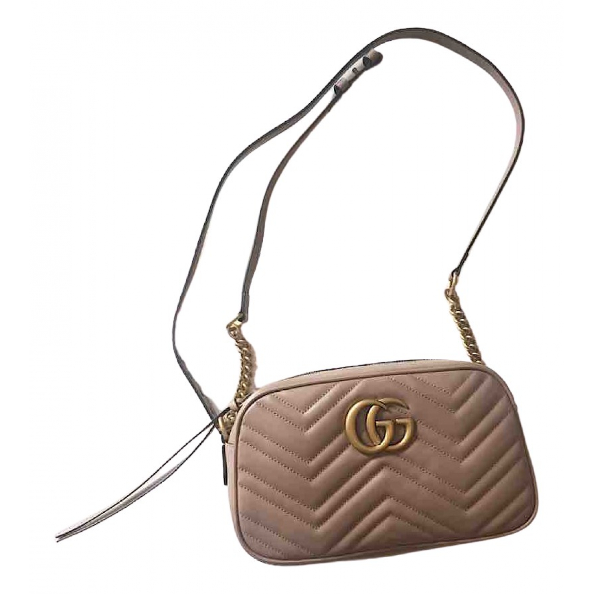 Gucci Marmont Pink Leather handbag for Women \N