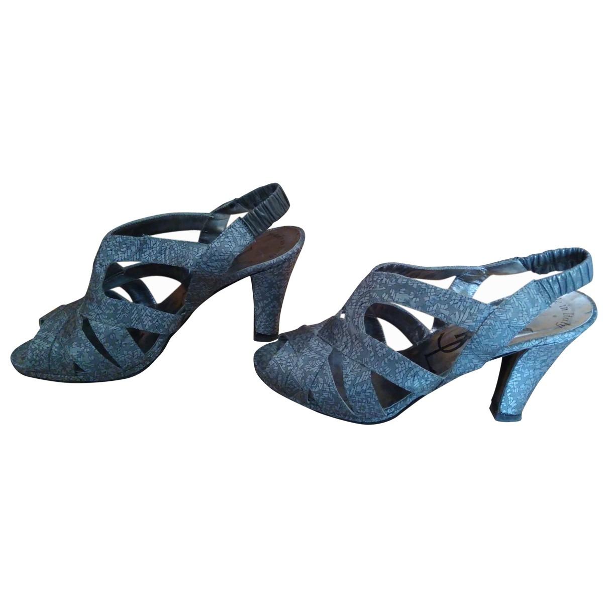 Sandalias de Lona Yves Saint Laurent