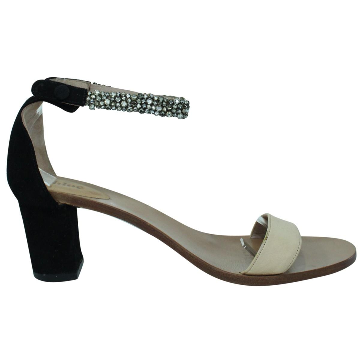 Chloé \N Multicolour Leather Sandals for Women 39 EU
