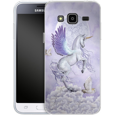 Samsung Galaxy J3 (2016) Silikon Handyhuelle - Selina Fenech - Moonshine von TATE and CO