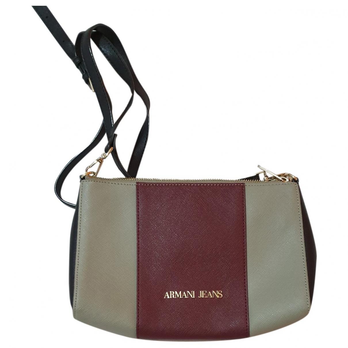 Armani Jeans \N Grey Leather Clutch bag for Women \N