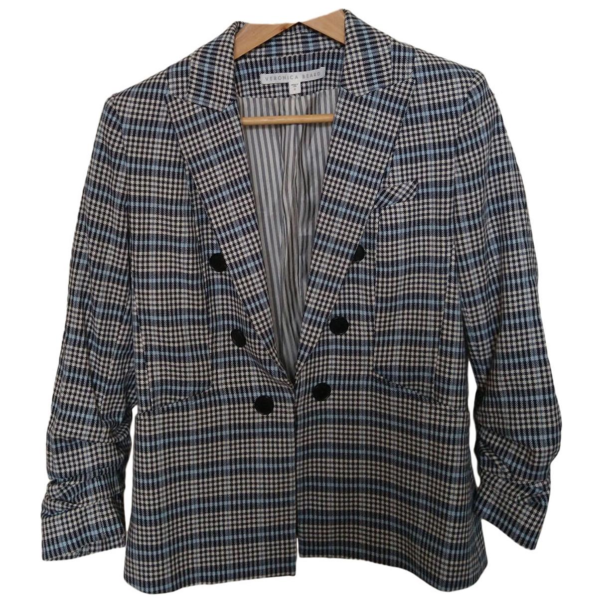 Veronica Beard - Veste   pour femme en coton - bleu