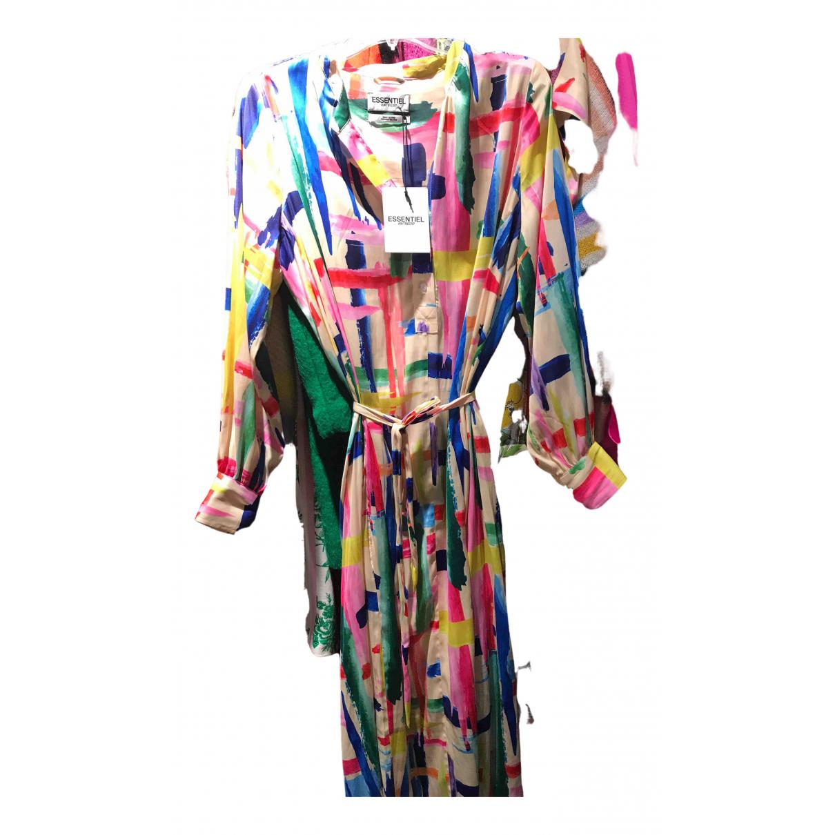 Essentiel Antwerp \N Kleid in  Bunt Synthetik