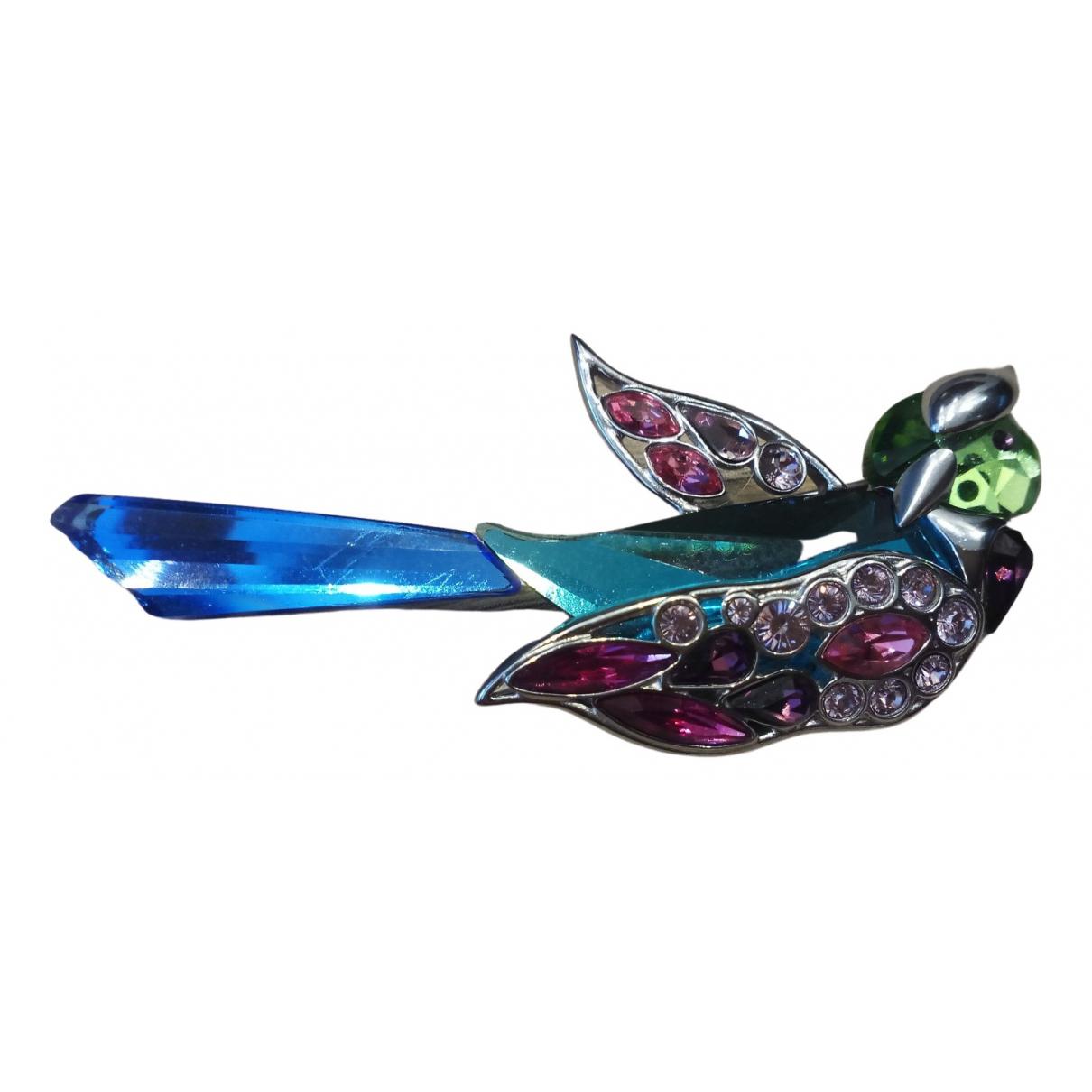 Swarovski \N Multicolour Silver Pins & brooches for Women \N