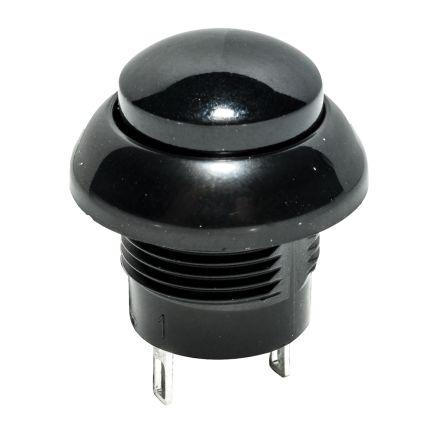 C & K Single Pole Single Throw (SPST) Momentary Push Button Switch, IP68, 12.3 (Dia.) x 11mm, Panel Mount, 32V dc (10)