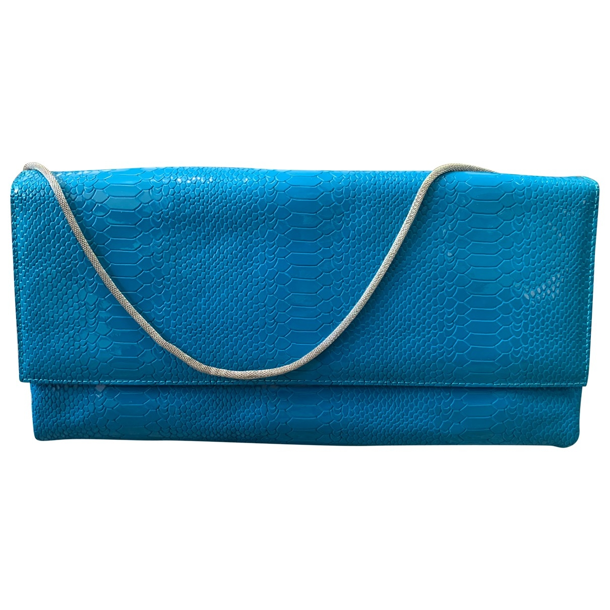 Casadei \N Clutch in  Blau Leder