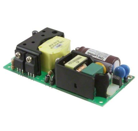 TDK-Lambda , 60W Embedded Switch Mode Power Supply SMPS, 12V dc, Open Frame