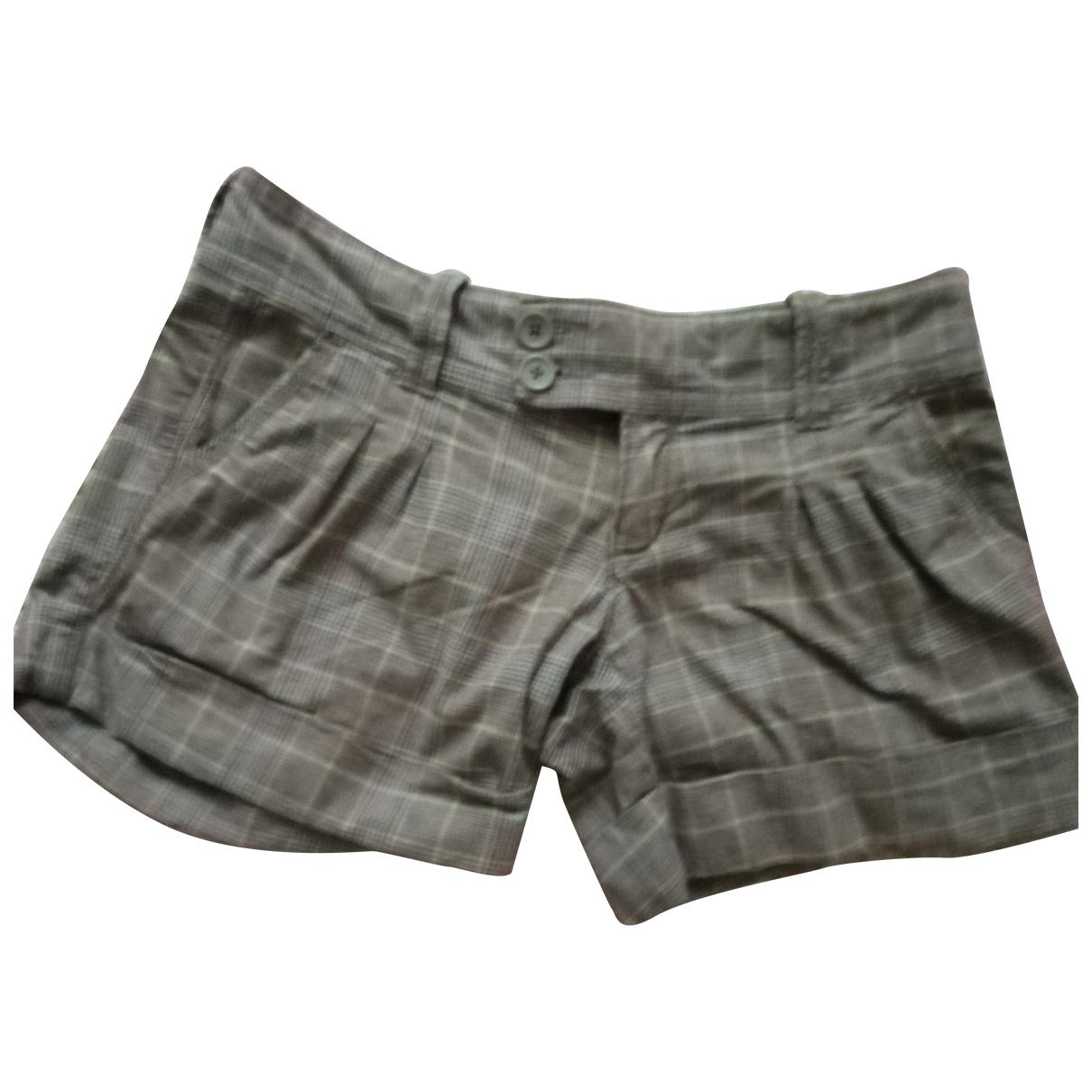 Abercrombie & Fitch - Short   pour femme en coton - beige