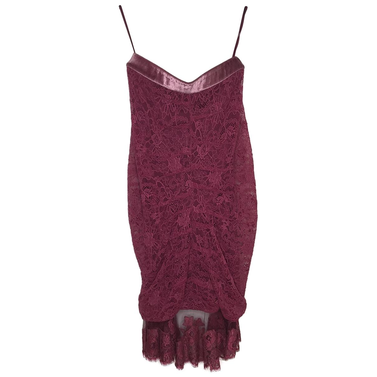 Dior - Robe   pour femme en coton - elasthane - rose