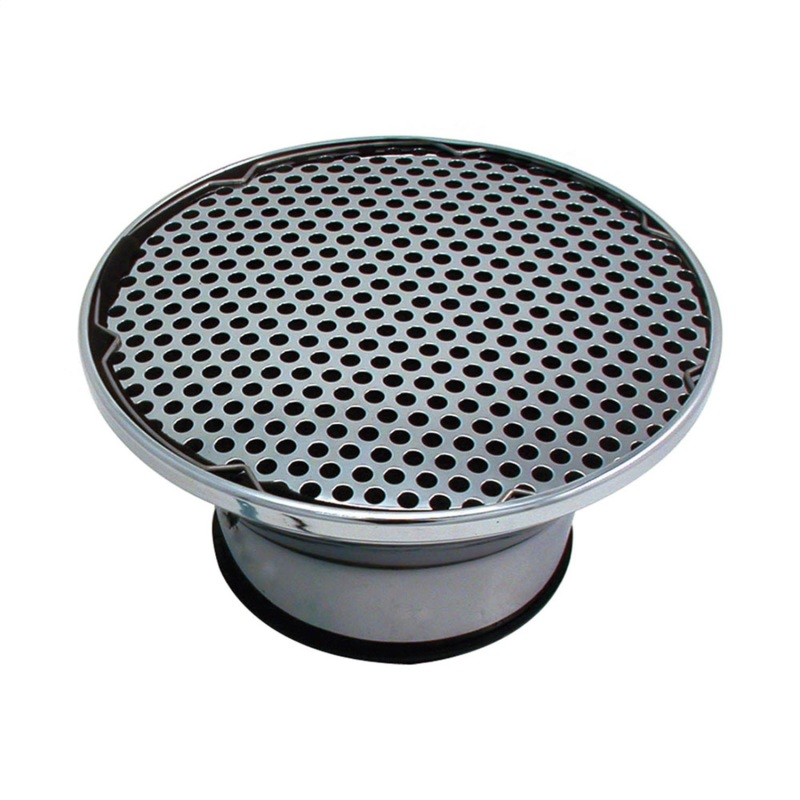 Spectre 4912 Foam Air Filter Custom Assembly w/Velocity Stack - Chrome