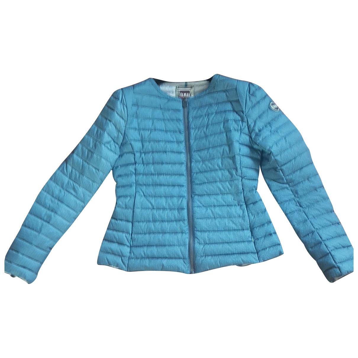 Colmar \N Maentel in  Blau Polyester