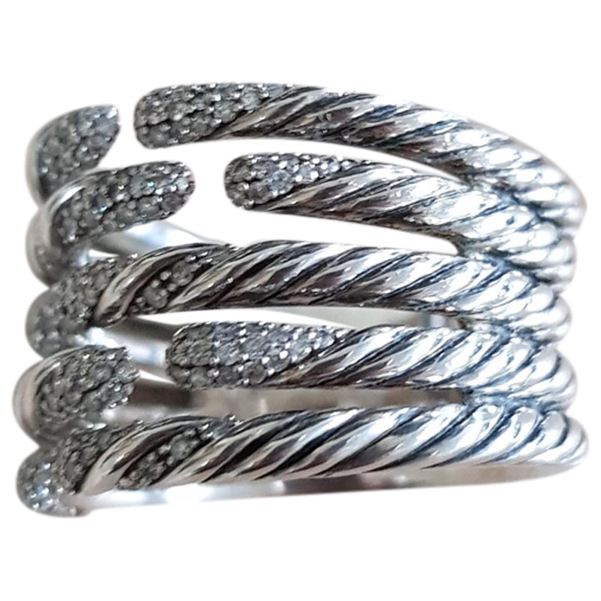 David Yurman \N Ring in  Silber Silber