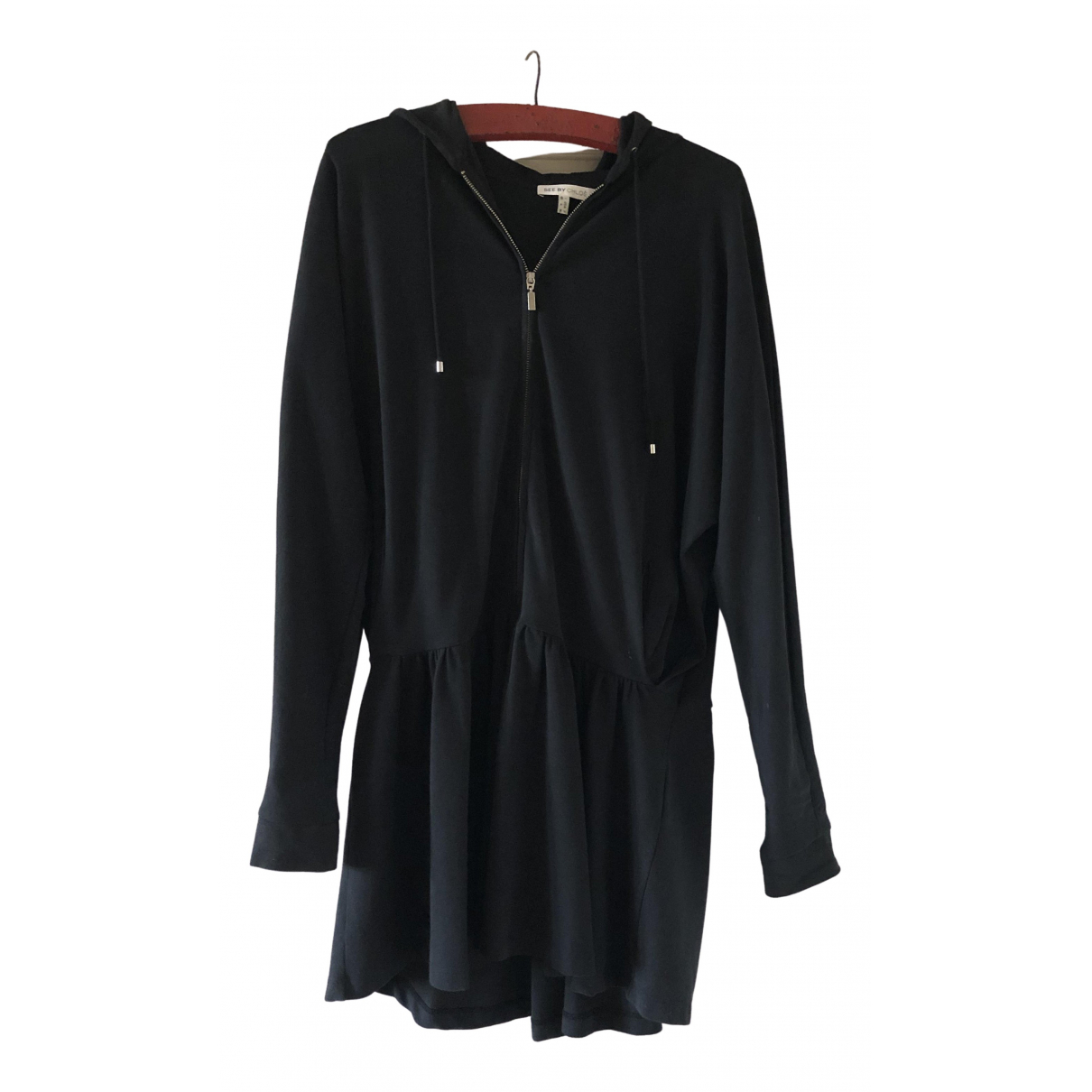 See By Chloé \N Anthracite Cotton dress for Women 4 US