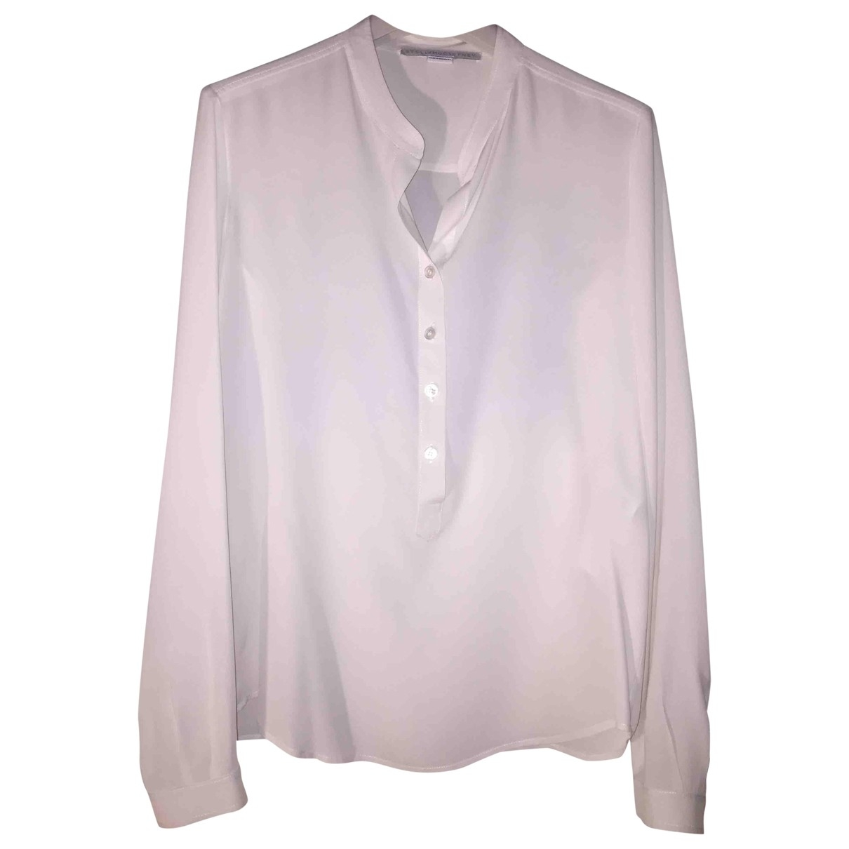 Stella Mccartney \N White Silk  top for Women 36 IT