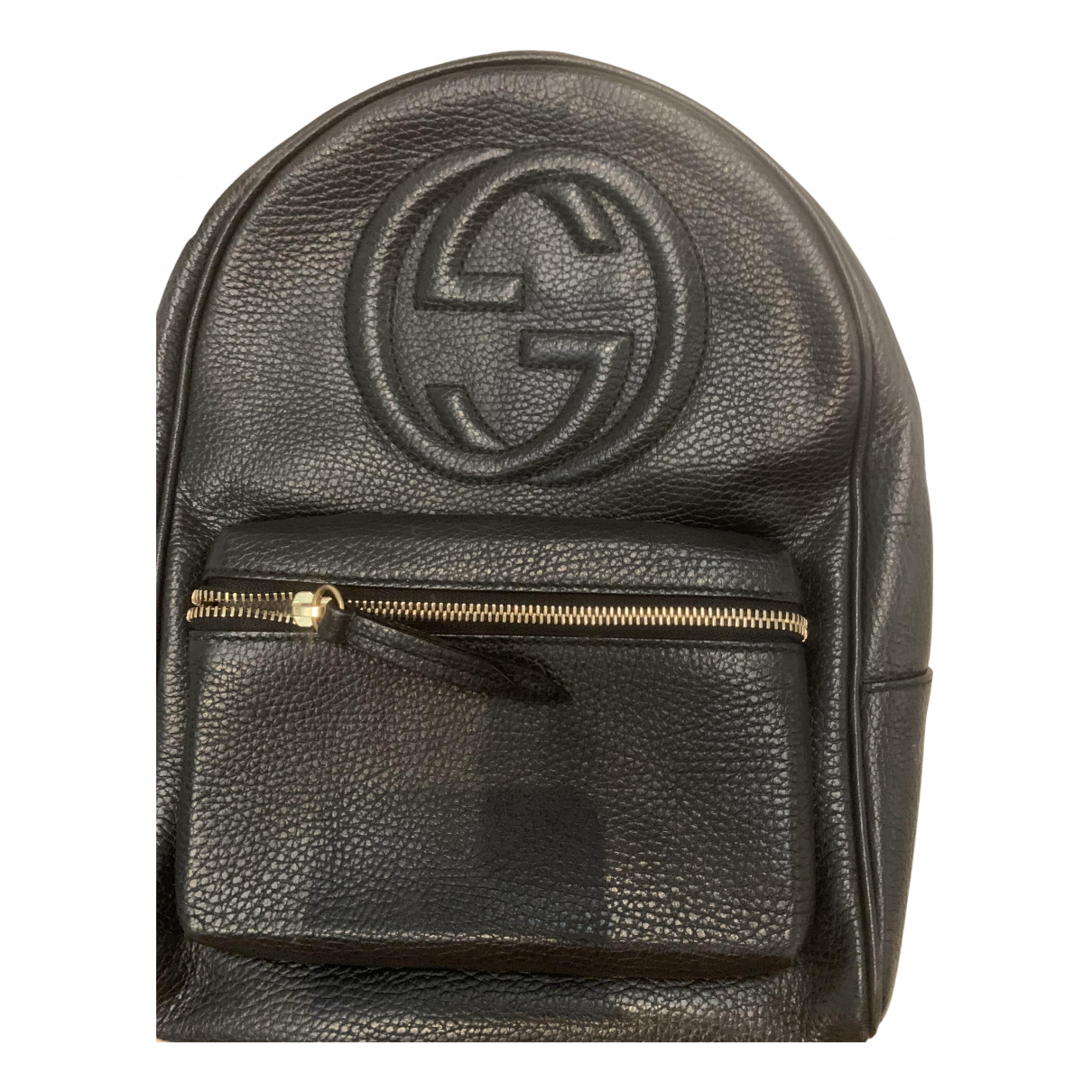 Gucci Soho Black Leather backpack for Women \N