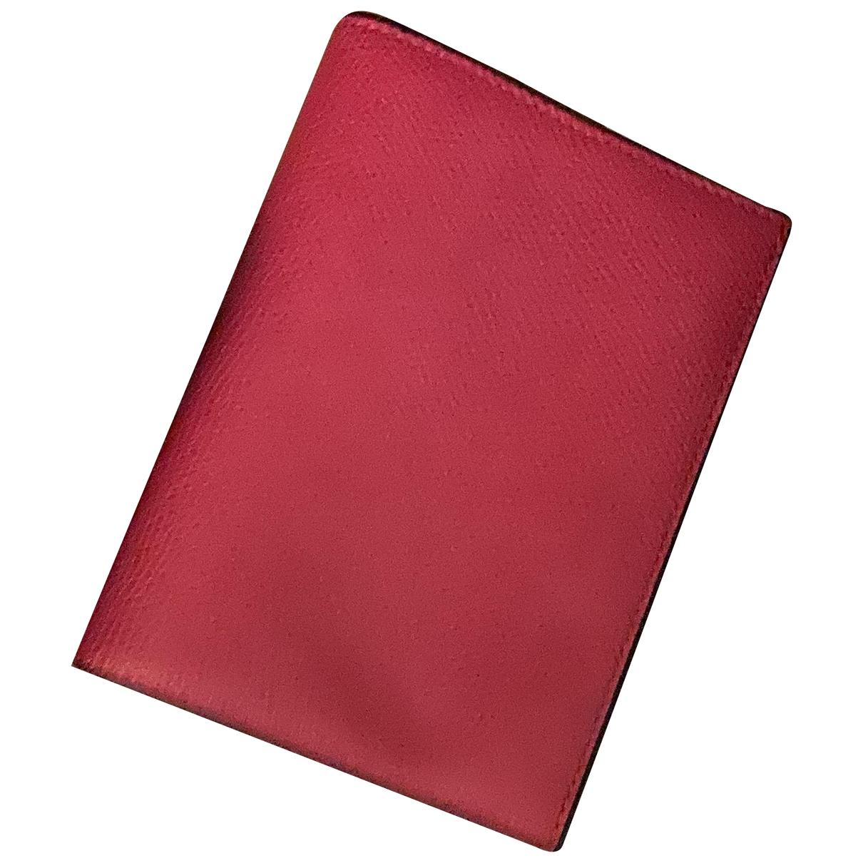 Valextra - Objets & Deco   pour lifestyle en cuir - rose