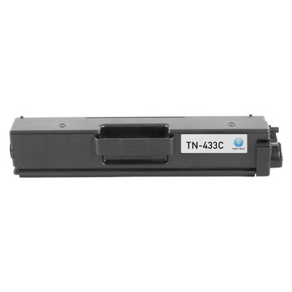 Compatible Brother TN433C cartouche de toner cyan haute capacite - boite economique
