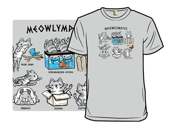 Meowlympics T Shirt