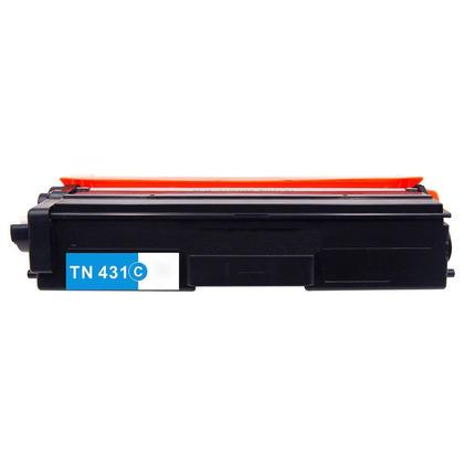 Brother TN431C cartouche de toner compatible cyan 1800 pages - boîte économique