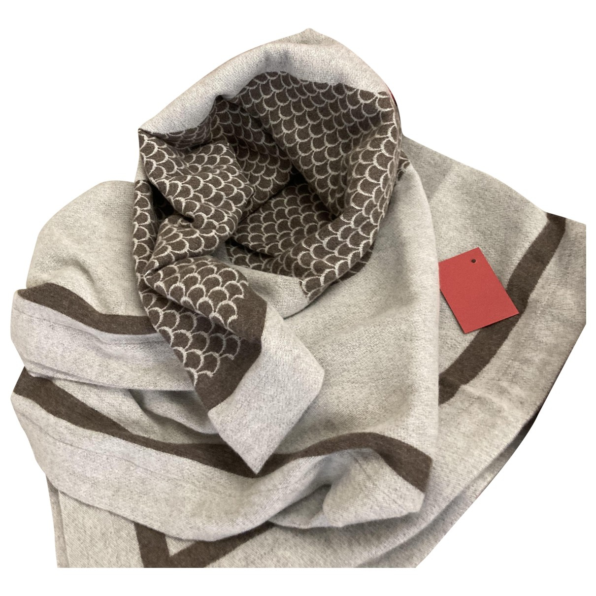 Cartier \N Grey Cashmere scarf for Women \N
