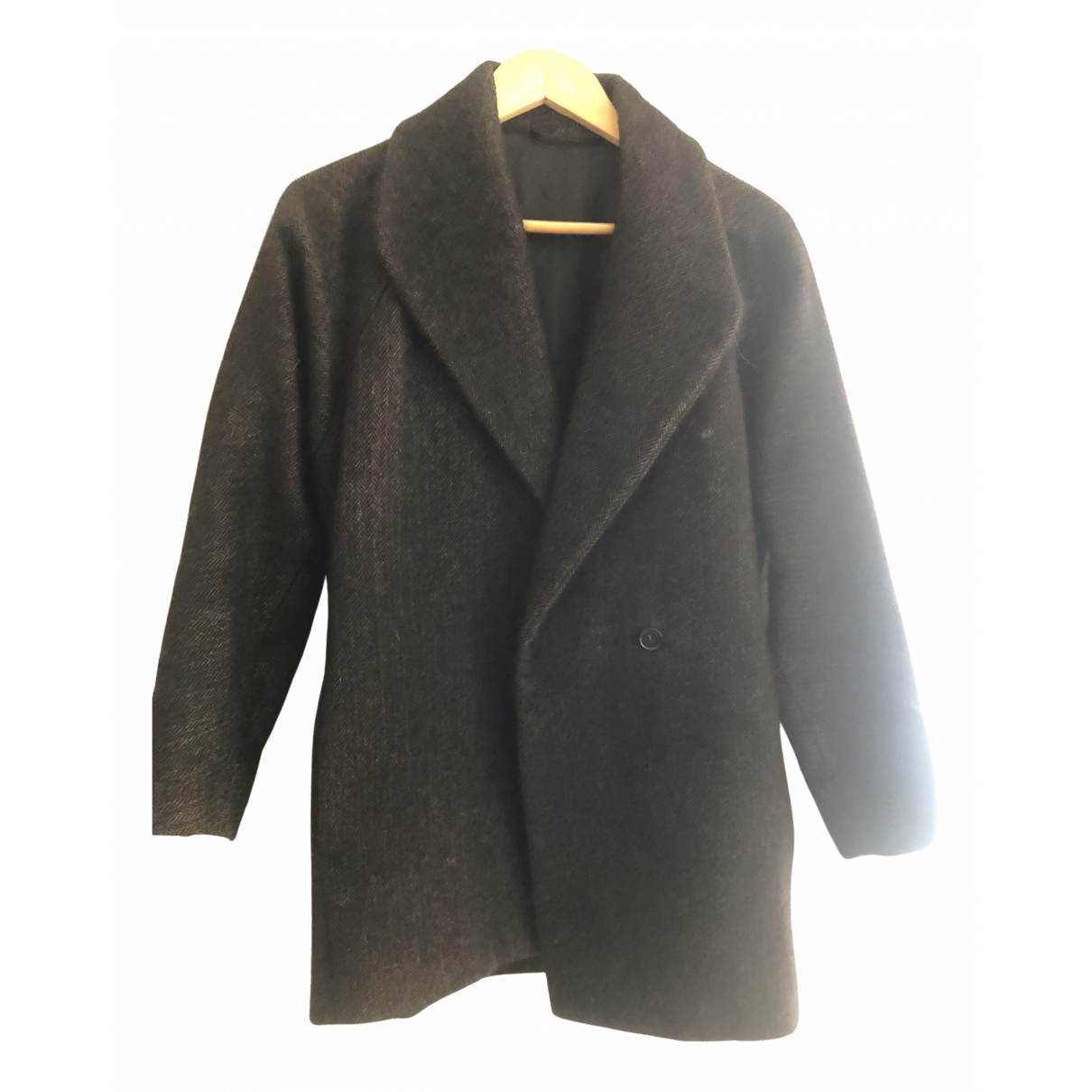 Maison Martin Margiela - Manteau   pour femme en cachemire - gris