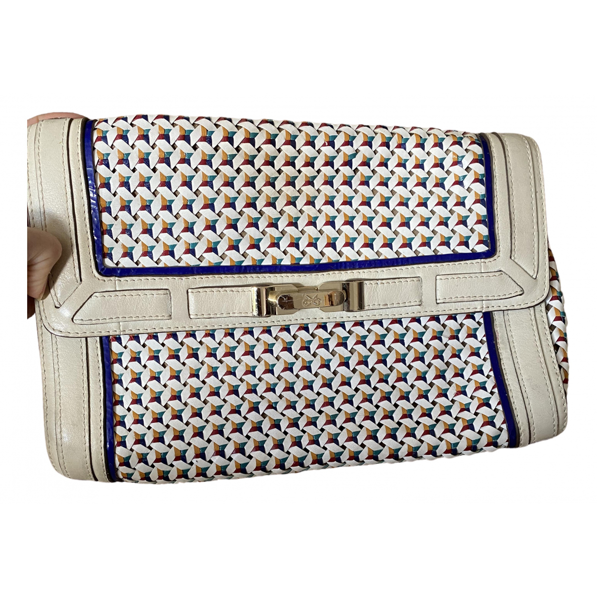 Anya Hindmarch \N Clutch in  Bunt Leder