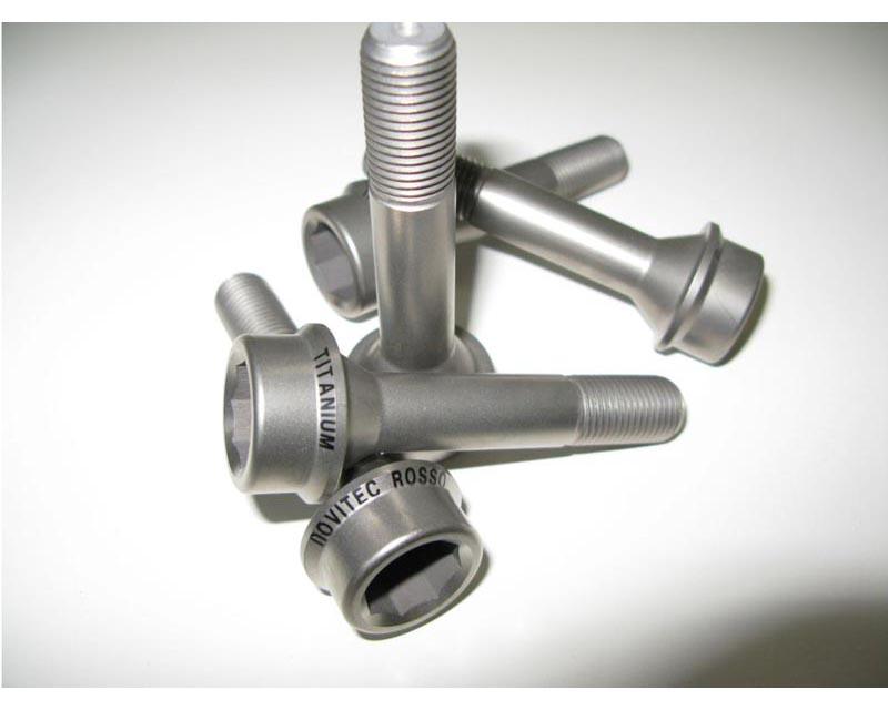 Novitec F5 888 16 Titanium 10pcs Wheel Bolts 20mm Spacer Set Ferrari California 08-14