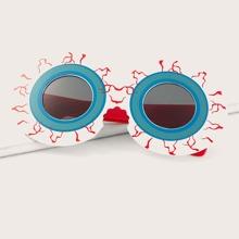 Sonnenbrille mit Augen Design