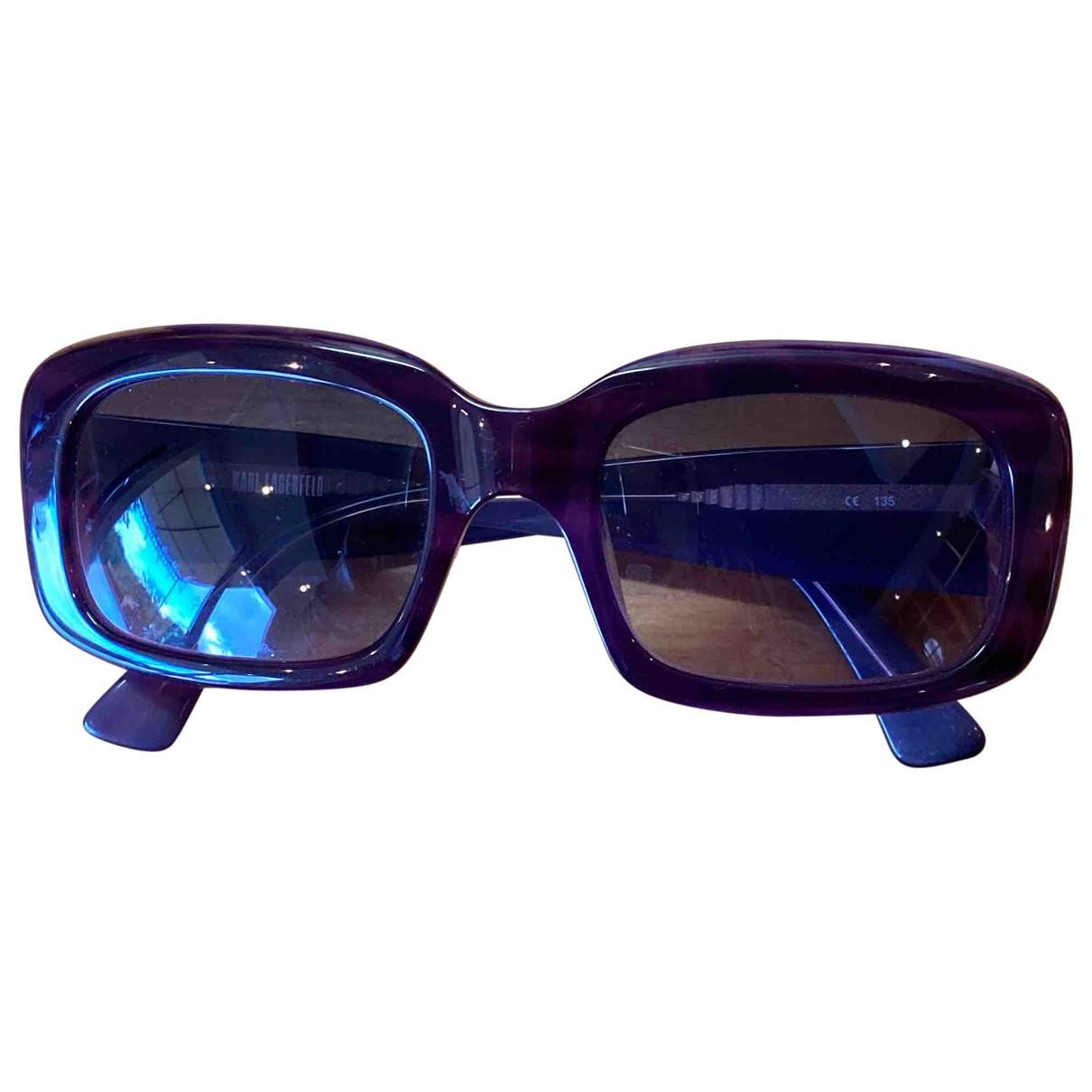 Karl Lagerfeld - Lunettes   pour femme - violet