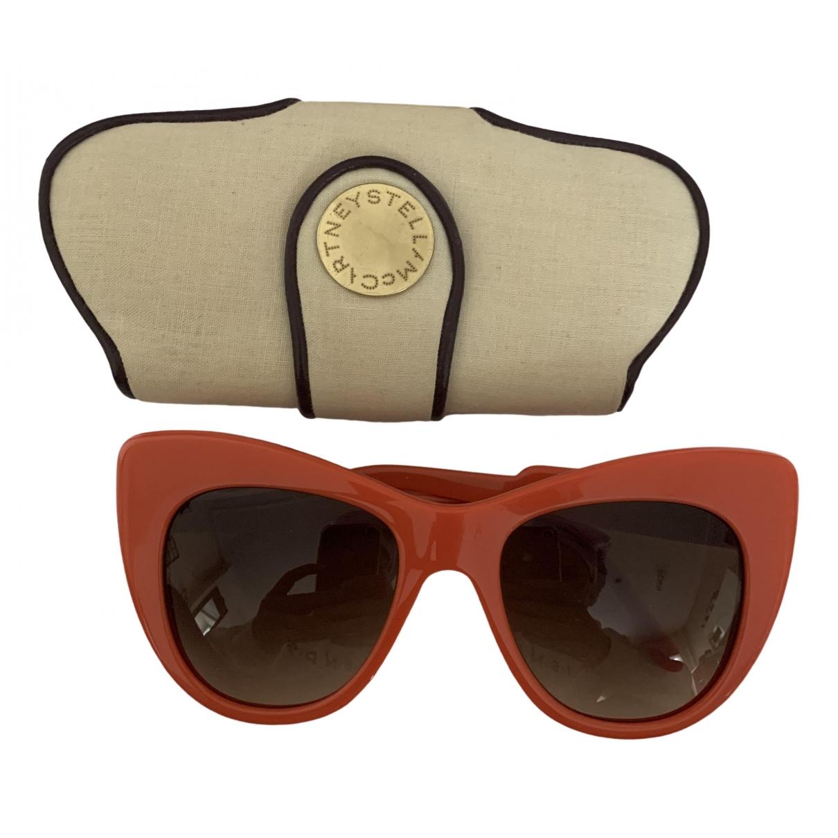 Stella Mccartney - Lunettes   pour femme - orange