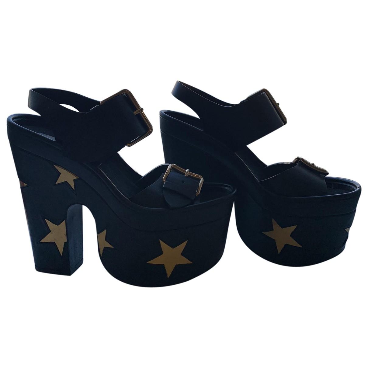 Stella Mccartney \N Multicolour Cloth Sandals for Women 35.5 EU