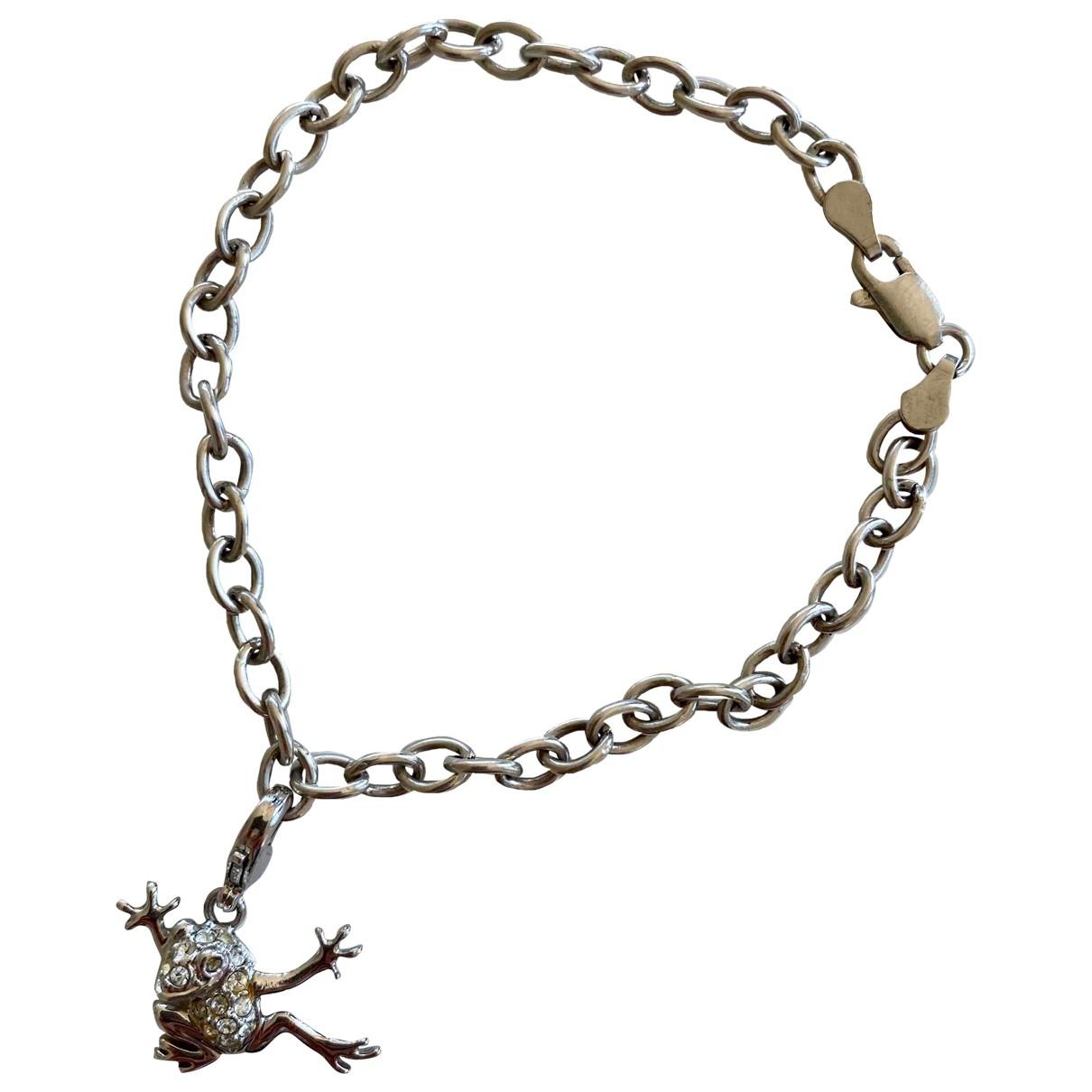 - Bracelet Motifs Animaliers pour femme en argent - metallise