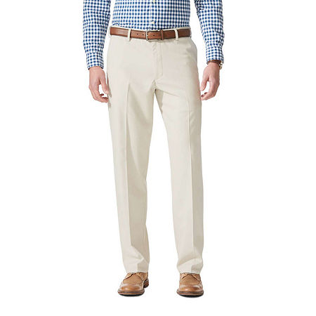 Dockers Men's Relaxed Fit Comfort Khaki Pants D4, 30 32, White
