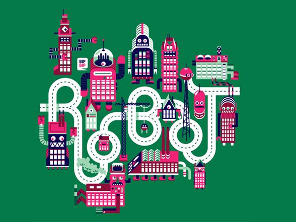 Robo City T Shirt