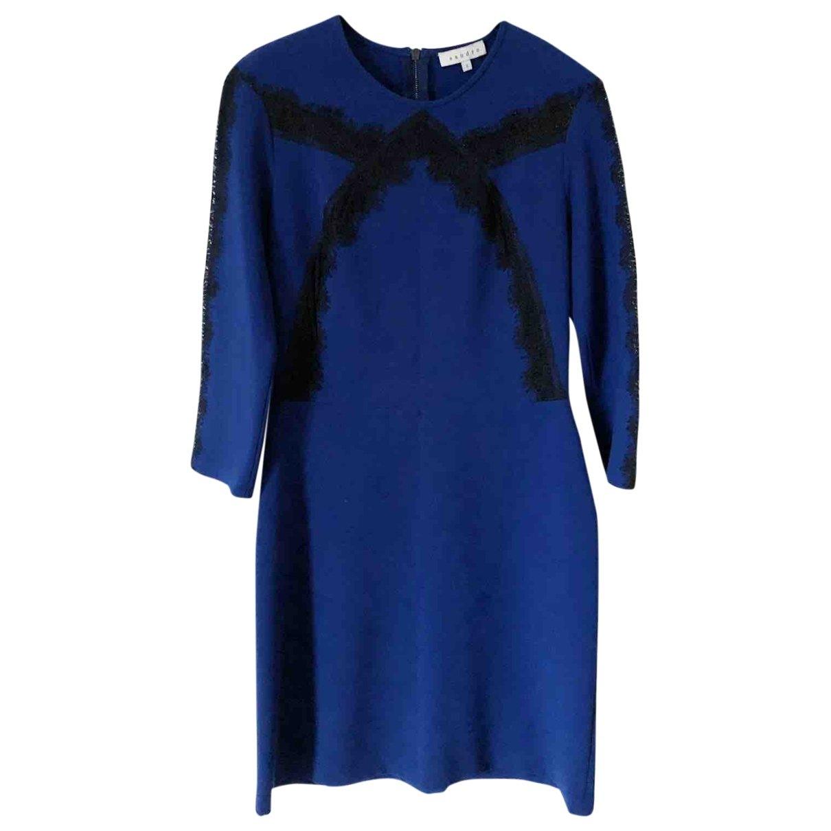 Sandro Fall Winter 2019 Blue dress for Women S International
