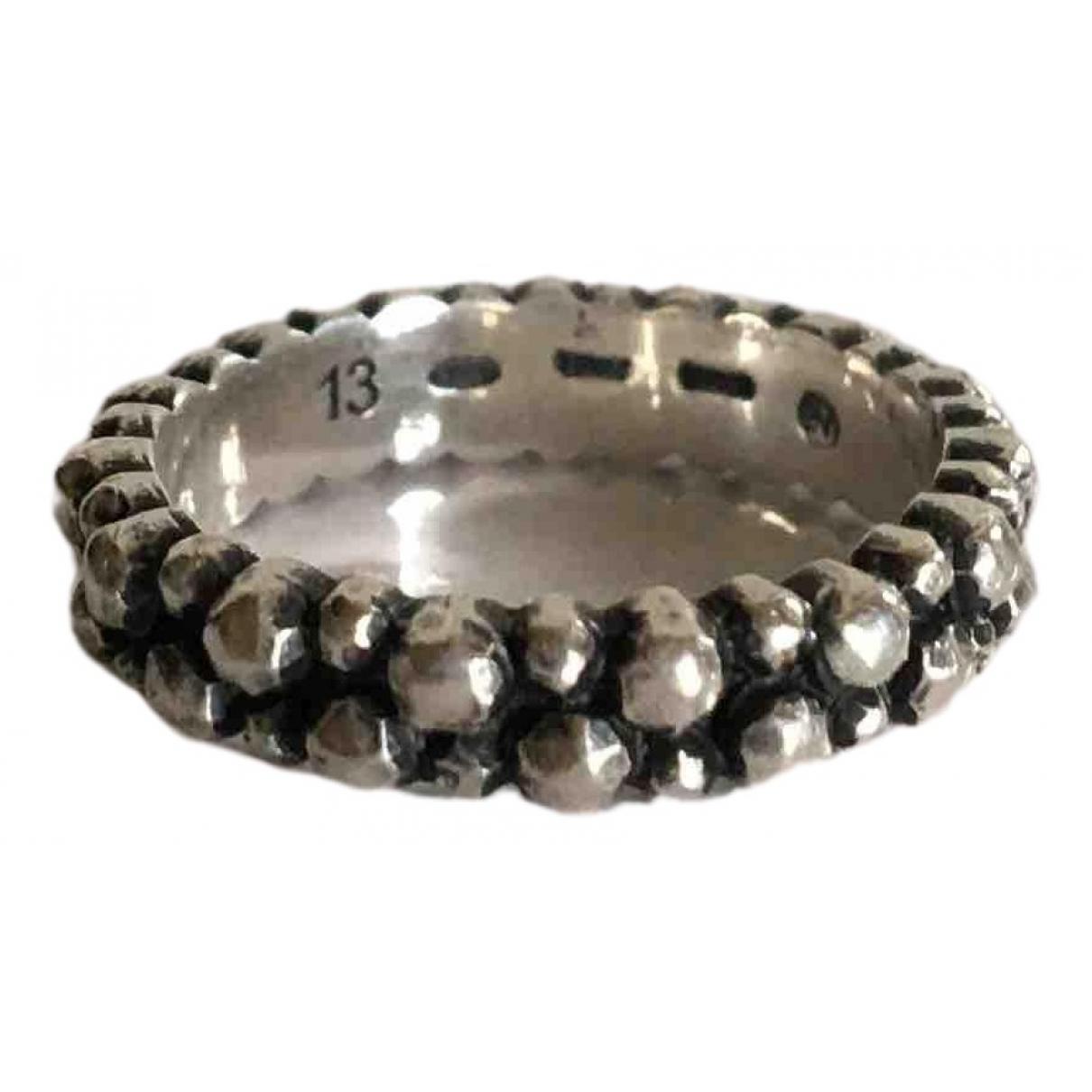 Bottega Veneta N Silver Silver ring for Women 6 US