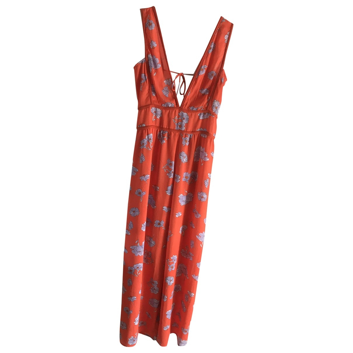 Asos \N Jumpsuit in  Rot Polyester