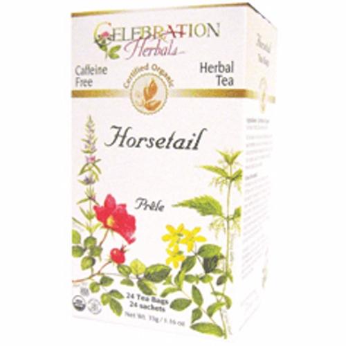 Organic Horsetail Tea 24 Bags by Celebration Herbals