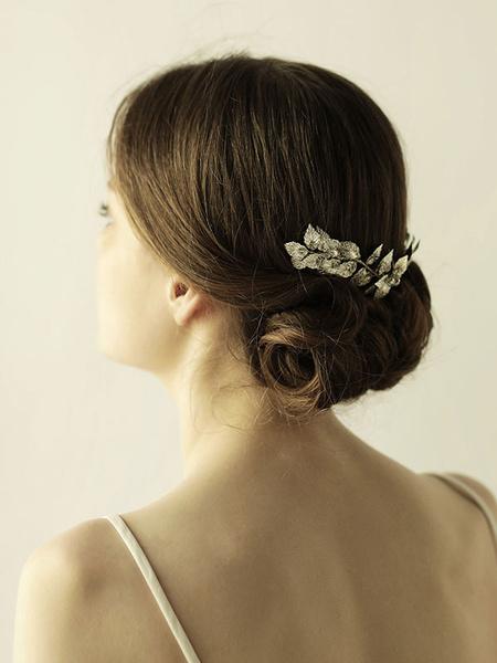 Milanoo Tocado de metal plateado con adorno para la cabezapara adultos para boda