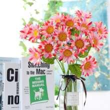 1 Zweig Kuenstliche Sonnenblume