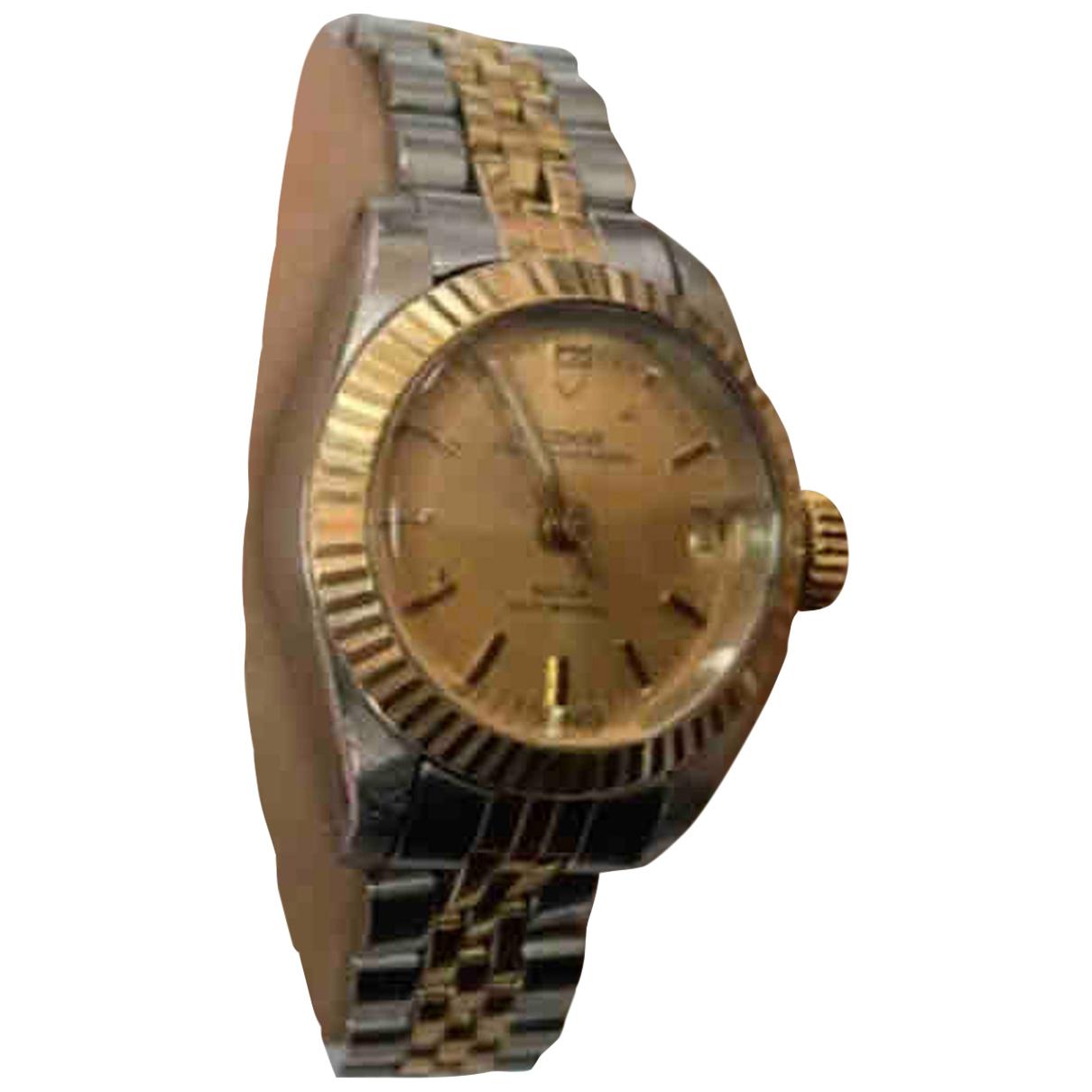 Rolex - Montre   pour femme en or et acier