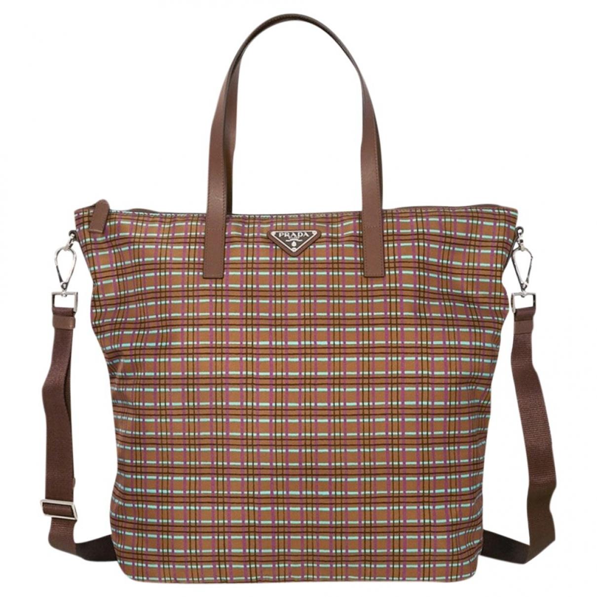 Prada Re-Nylon Handtasche in  Bunt Synthetik