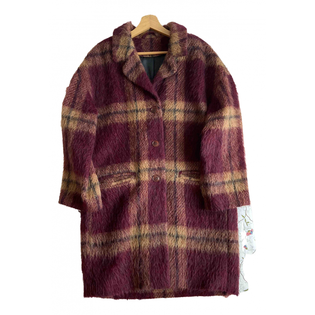 & Stories \N Purple Wool coat for Women 10 US