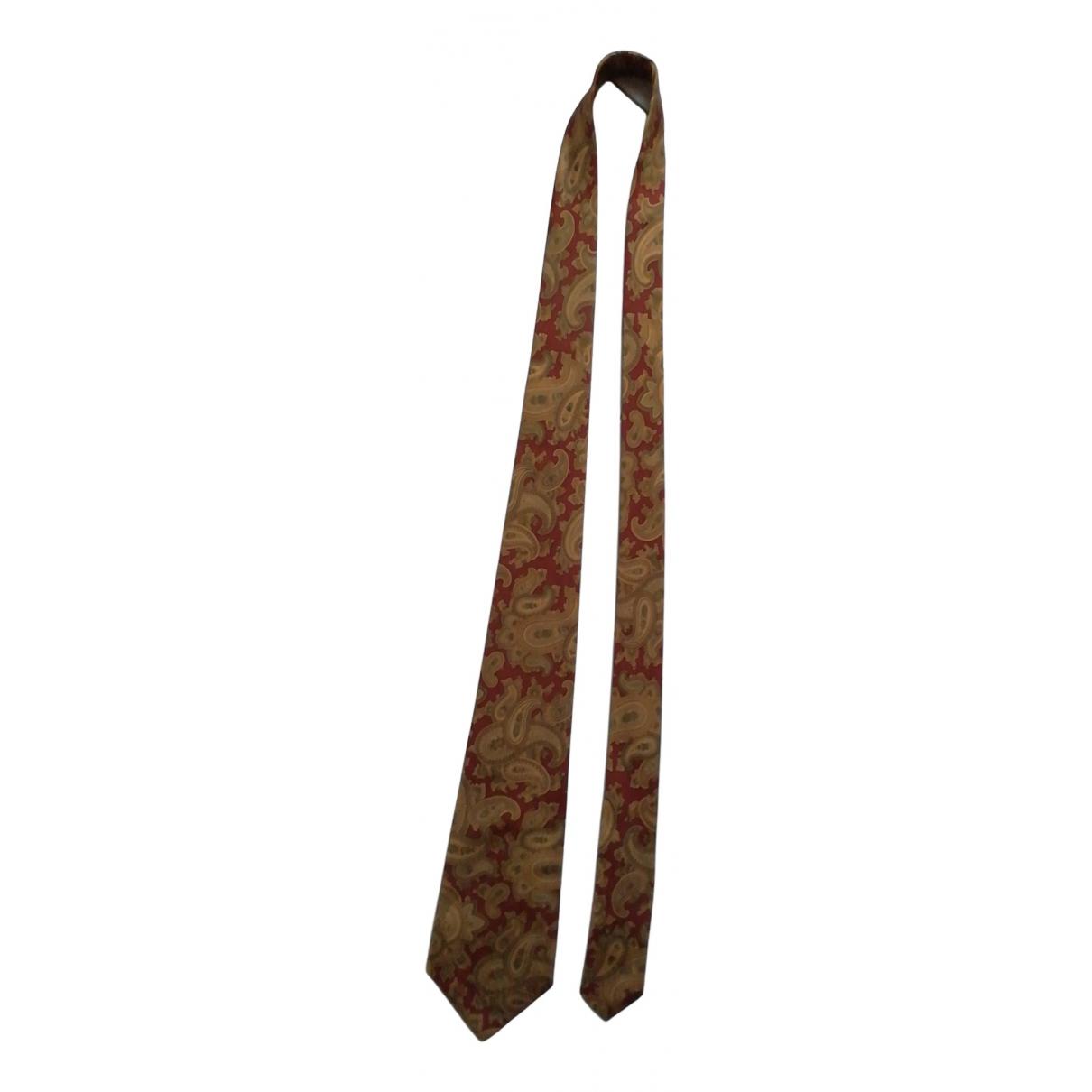 Givenchy - Cravates   pour homme en soie - camel