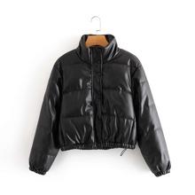 Zip Up Snap Button Drawstring Hem Jacket