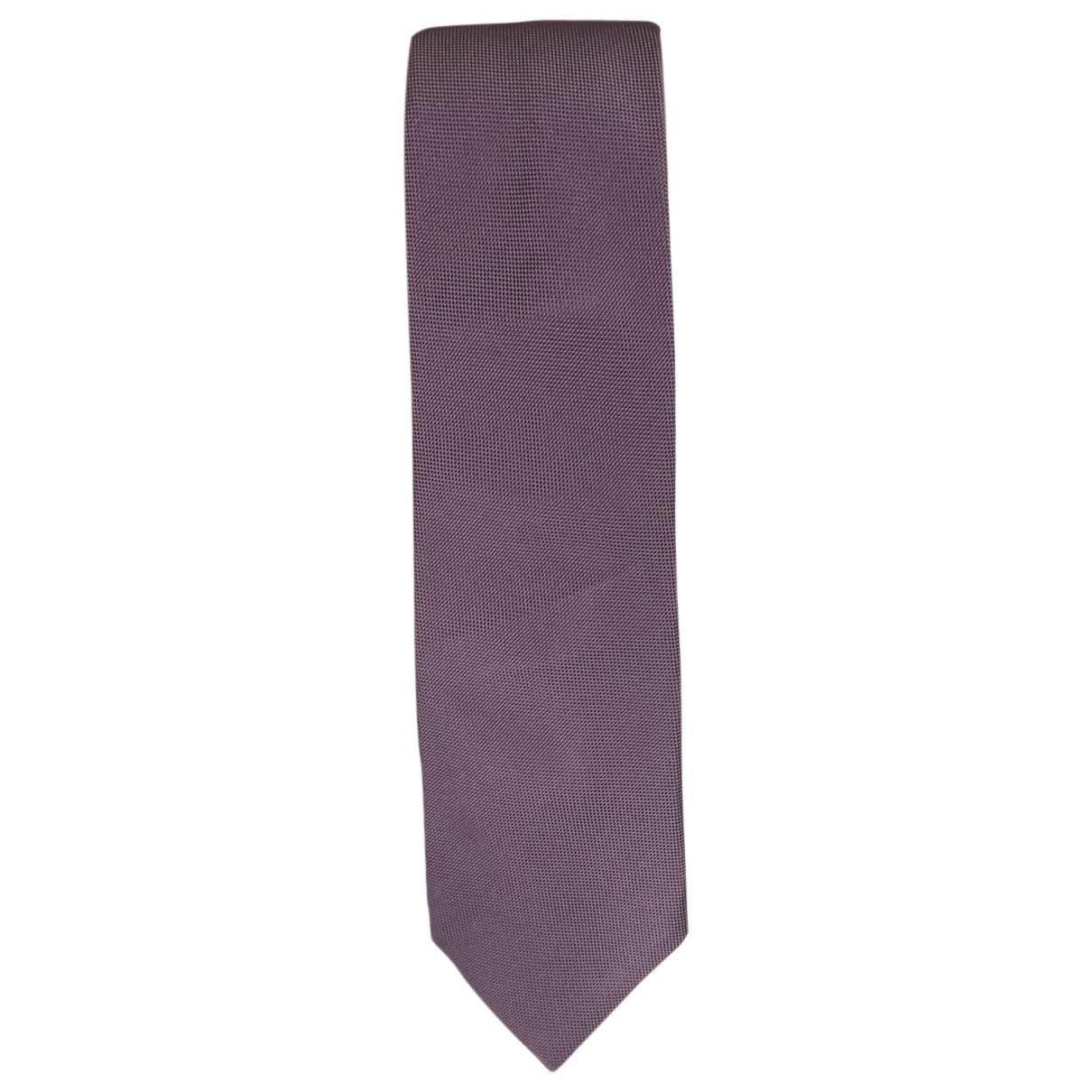 Faconnable - Cravates   pour homme en soie - violet