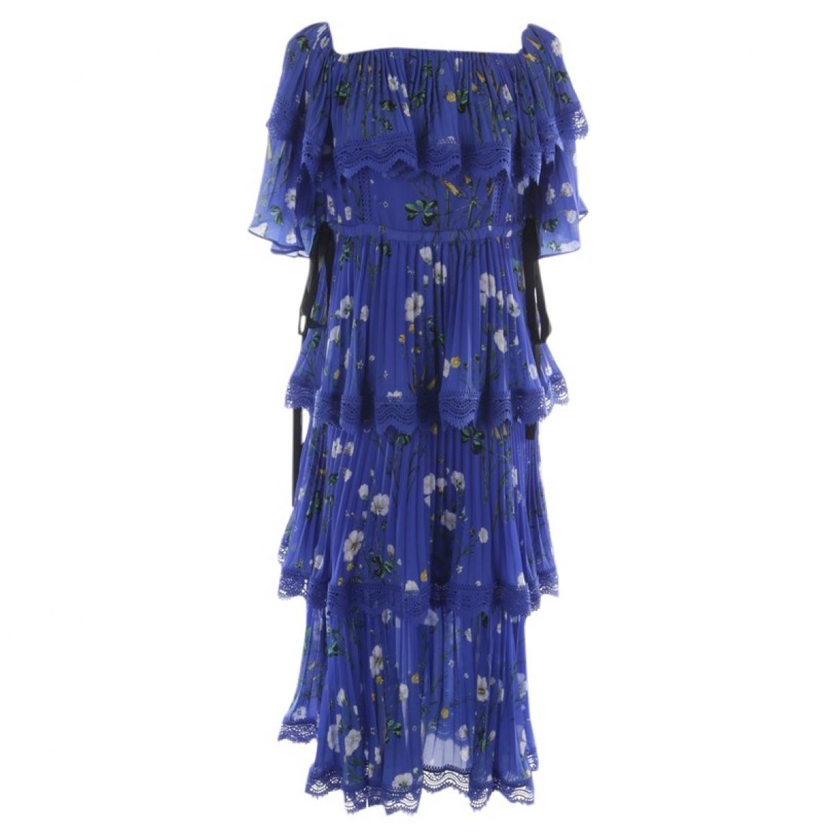 Self Portrait \N Blue dress for Women 36 FR