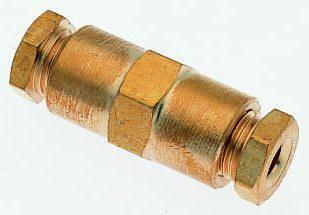 Norgren Tube-to-Tube 22 Pneumatic Straight Tube-to-Tube Adapter (5)