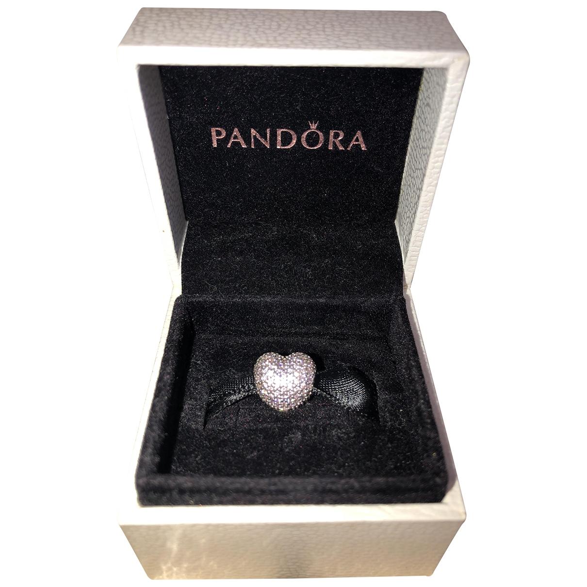Pandora \N Armband in  Lila Silber