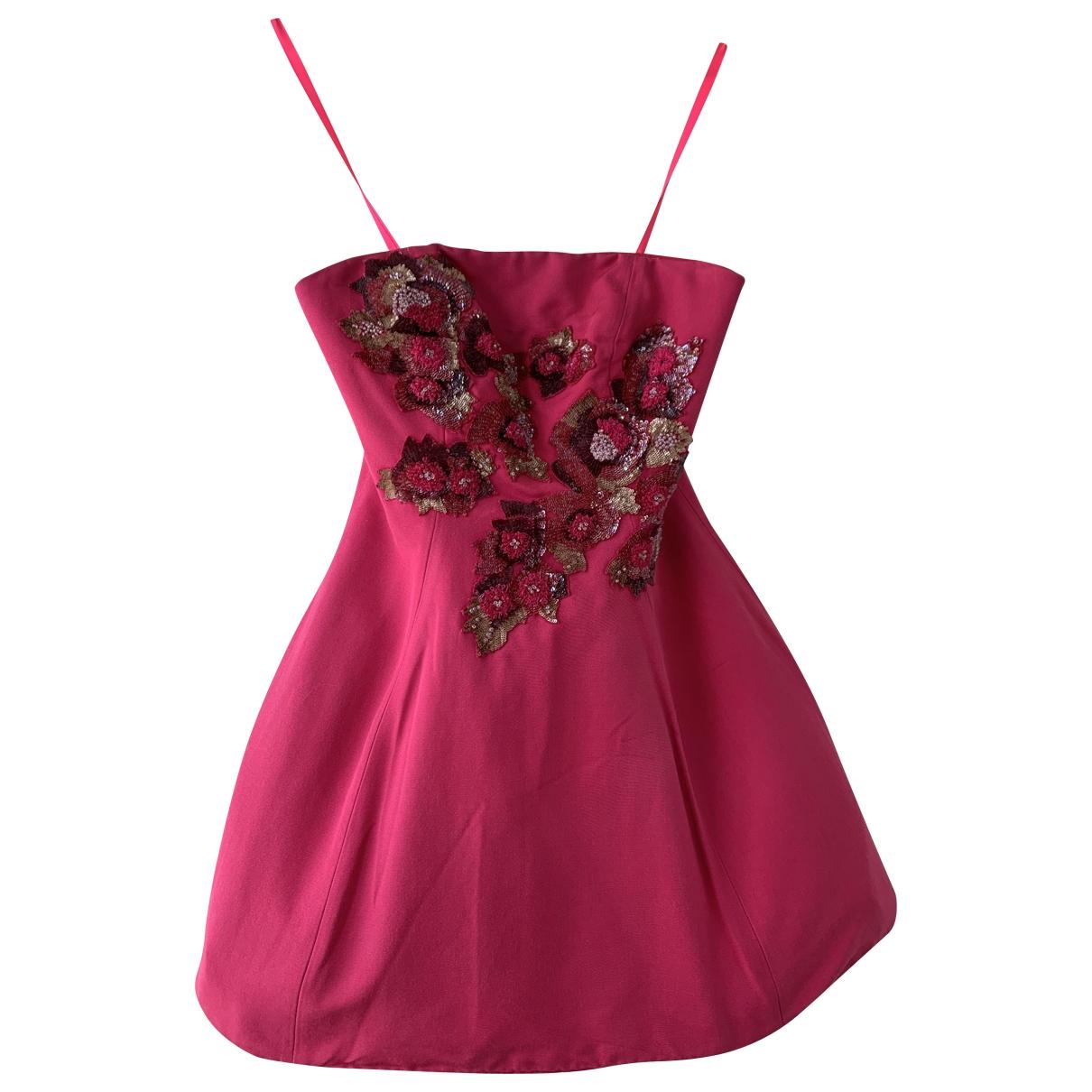 Mini vestido Marchesa Notte